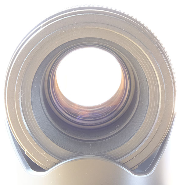 Picture of a large aperture