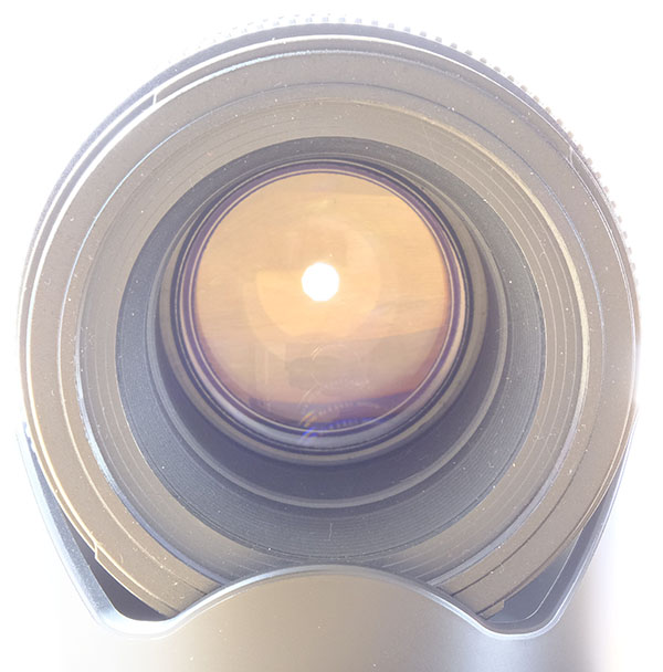 Picture of a small aperture